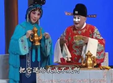 京剧望江亭