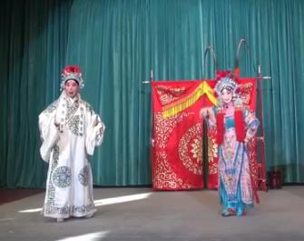 北京和韵京剧团迎新春折子戏献演百花赠剑
